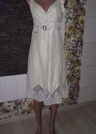 Очень красивый сарафан, платье с ажуром, размер s/m