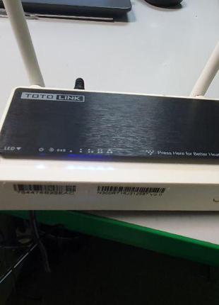 Сетевое оборудование Wi-Fi и Bluetooth Б/У Totolink N300RT