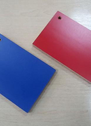 Фанера ламинированная ярких цветов синяя, красная 15х1250х2500 мм