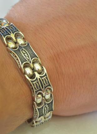 Эксклюзивный браслет из серебра
