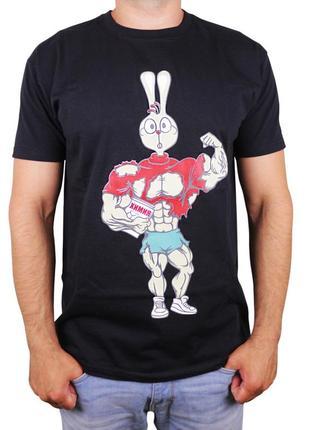 Мужская футболка со спортивным принтом
