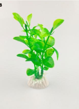 Искусственные растения в аквариум зеленые