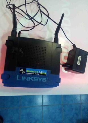 Сетевое оборудование Wi-Fi и Bluetooth Б/У Linksys WRT54GL