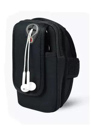 Чехол-сумка на руку для телефонов до 6.2 дюймов