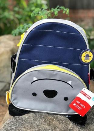 Новый рюкзак skip hop. оригинал. летучая мышь от 3-х лет