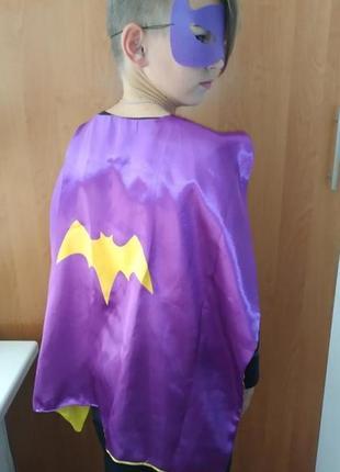 Карнавальный новогодний костюм детский бэтмен супергерой