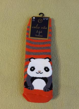 Носки теплые махровые махра теплі махрові носочки панда