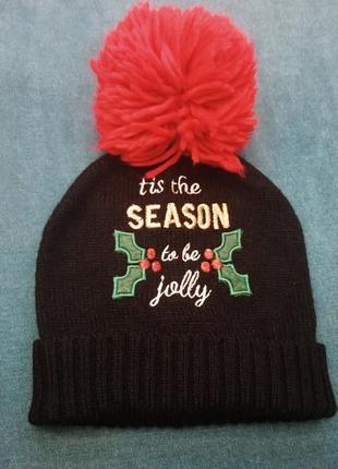 Новогодняя шапка