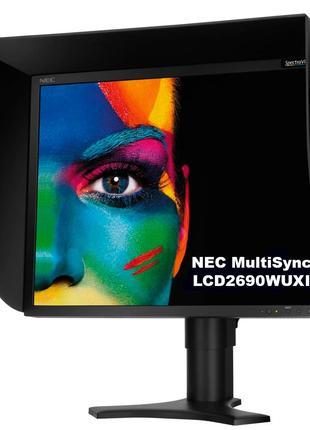 """Монитор 25.5"""" NEC MultiSync LCD2690WUXi-BK + ПО SpectraView II"""
