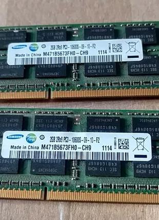 Продам!Оперативная память для ноутбука Samsung SODIMM DDR3 4Gb