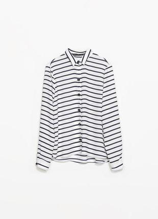 Полосатая рубашка/блуза в полоску от zara