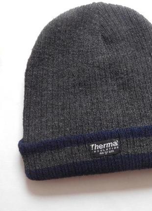 Шапка для мальчика thermal insulation с утеплителем thinsulate...
