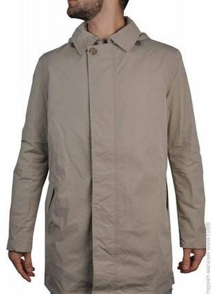Мембранная мужская куртка тренч ветровка пальто плащ geox m322...