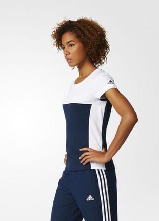 Спортивная женская футболка climacool от adidas. оригинал
