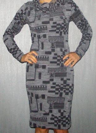 Платье футляр облегающее длины миди