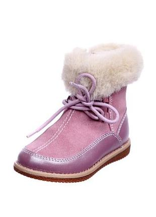 Зимние ботинки geox 23, 24р
