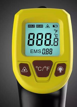 Gm320s пирометр термометр лазерный бесконтактный инфракрасный ...