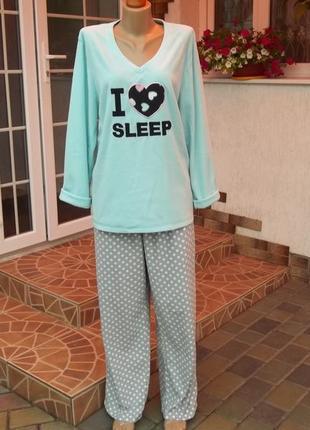 50/52 р флисовый комбинезон костюм пижама кигуруми большой размер
