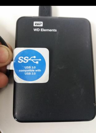 Жесткий диск WD Elements SE 2TB 2.5 USB 3.00 Western Digital