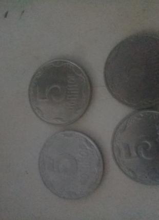 5 копеек 1992, 2003 и 2 шт 2014 года 1 лотом