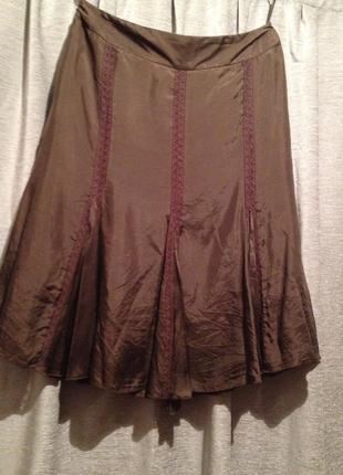 Легкая воздушная юбка.053