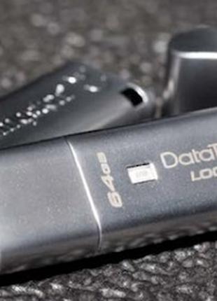 Kingston DataTraveler Locker+ G3 з апаратним шифруванням 64 ГБ