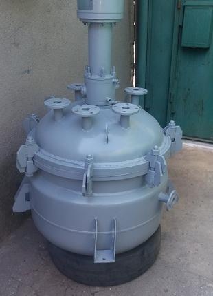 Реактор из нержавеющей стали на 250 литров , емкости, сборники.