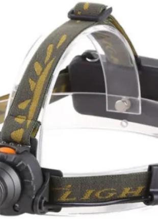 Фонарик на лоб Police BL-6616-XPE Sensor (120)