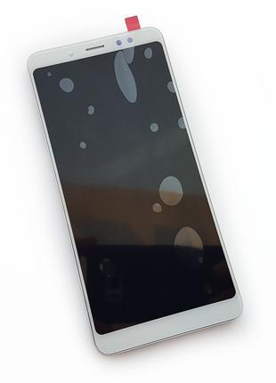 Дисплей Xiaomi Redmi 5 с тачскрином и рамкой, белый