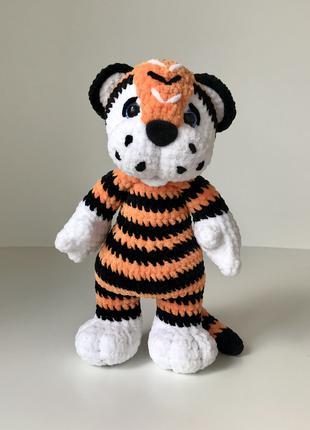 Тигр Вязаный Крючком Амигуруми