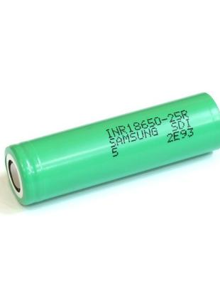 Аккумулятор Li-ion Samsung INR18650-25R 18650 2500mah (20А)
