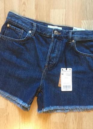 Стильные джинсовые шорты mango, размер 36