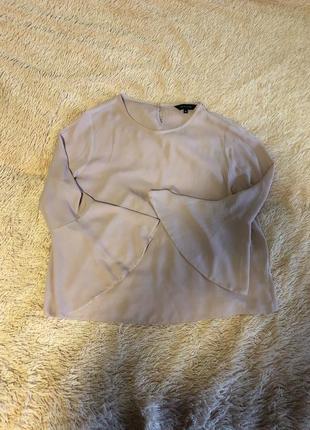 Шикарная пудровая блуза от new look