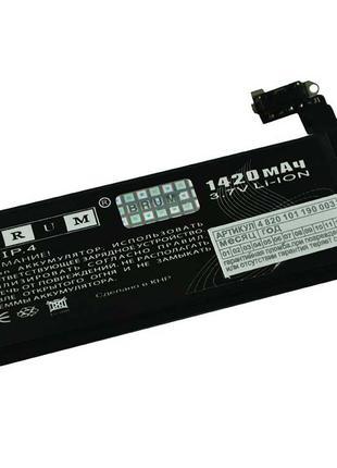 Аккумулятор для iPhone 4 (1420mAh) Батарея