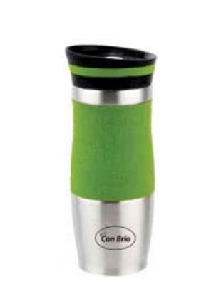 Термокружка 380мл СВ364 зелений ТМ CON BRIO