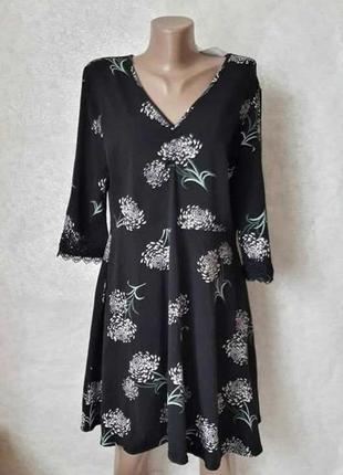 Фирменное dorothy perkins с биркой платье в пионах на 96 % хло...