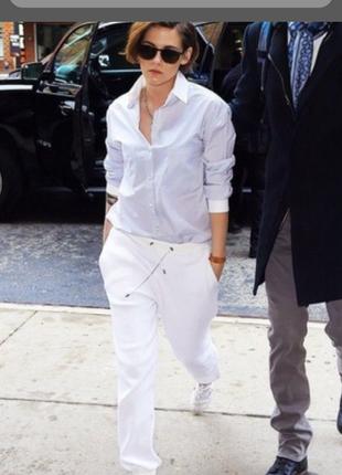 Белые,летние брюки versace