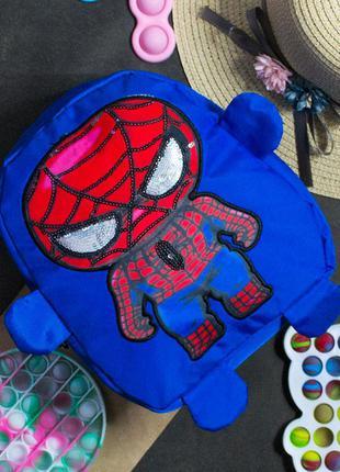 Детский рюкзак для мальчика, spider man, человек паук, людина ...