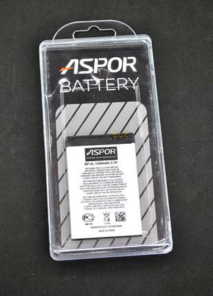 Аккумулятор для телефона Nokia BP-4L Aspor (1500 mAh)
