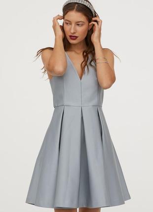 Новое красивое нарядное платье h&m. размер 34