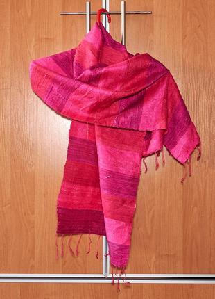 Женская шелковая шаль.