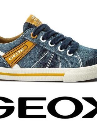 Оригинал- фирменные кеды тм geox 31 размер