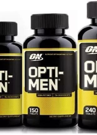 Витамины и минералы для мужчин Opti-men 150 таб (USA ОРИГИНАЛ)