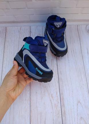 Крутые зимние ботинки на мальчика