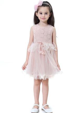 Нарядное красивое детское платье 1235