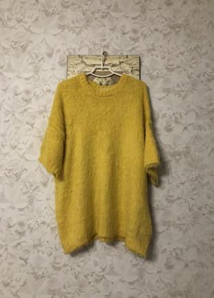 Объемный желтый свитер h&m, новый!
