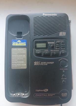 Радиотелефон + цифровой автоответчик Panasonic KX-TCM 412B