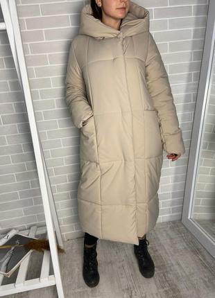 Акция!! зимний пуховик-одеяло с поясом