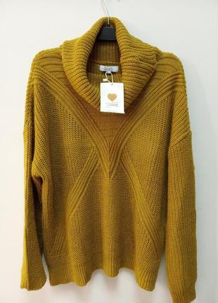 Стильный вязаный женский свитер, франция.