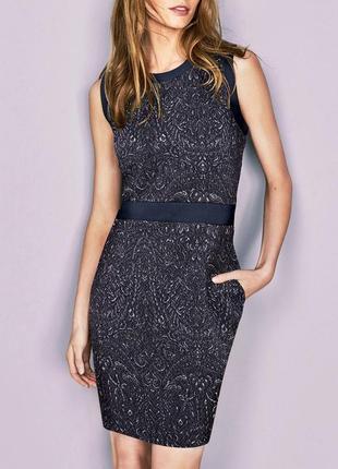 Распродажа! блестящее силуэтное платье с карманами, демисезон ...